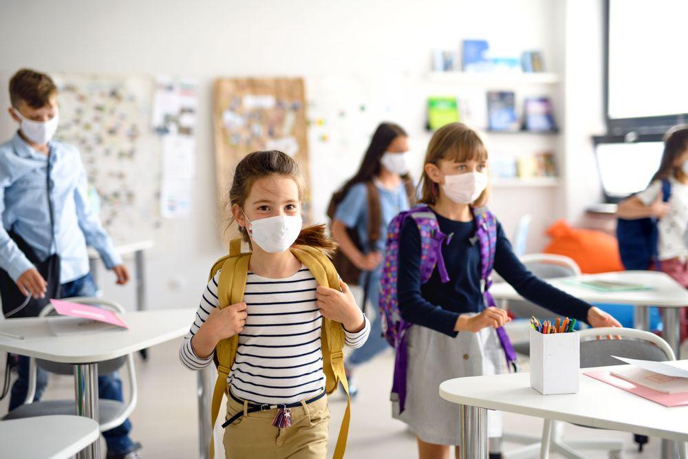 """Kinder- und Jugendärzte zum Mund-Nasen-Schutz: """"Mund-Nasen-Bedeckung schützt und ist für Kinder gesundheitlich unbedenklich."""""""